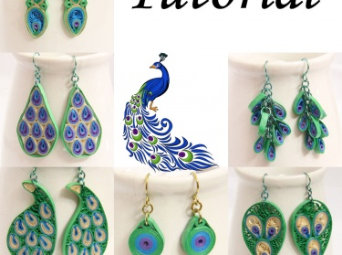 Pdf Tutorial Make Your Own Peacock Inspired Paper